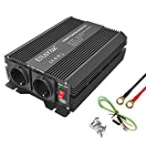 ERAYAK Convertisseur 1000W(Max 2000W), Onduleur, Inverter, Transformateur, 12v 220v, USB Port , 2...