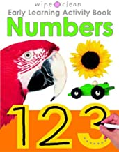 Wipe Clean Early Learning Activity Book - Numbers (Wipe Clean Early Learning Activity Books)