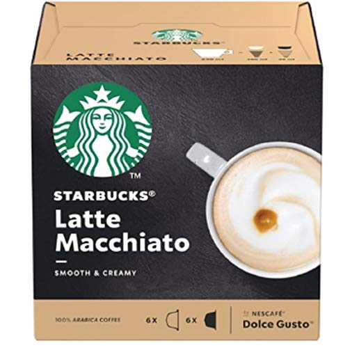 Starbucks® - Latte Macchiato por Nescafé® Dolce Gusto® - 3X 12 Cápsulas