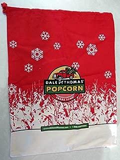 Lot of 24 Pieces - Large Dale & Thomas Canvas Popcorn Bags Measure 18