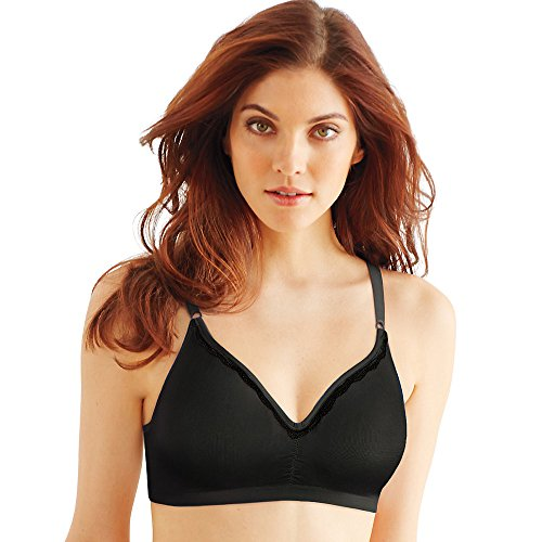 Bali Women's Passion for Comfort Worry-Free Underwire Bra, Crystal Grey, 36B