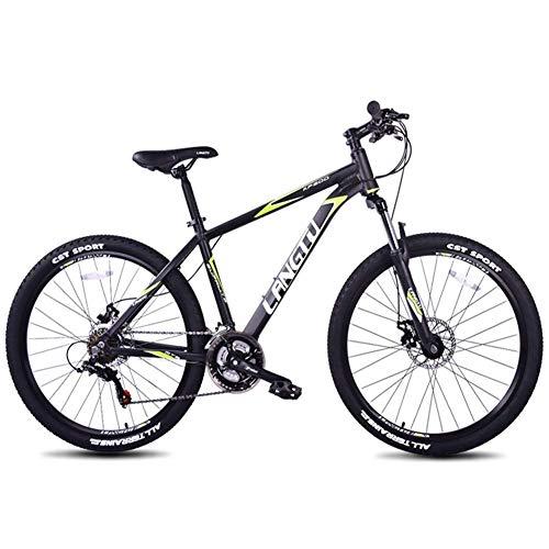 Bicicletas de montaña de 21 velocidades, bicicleta de montaña rígida con cuadro de aluminio de 26 pulgadas, bicicleta de montaña todo terreno para niños y adultos, bicicletas de montaña antideslizante