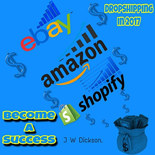 Dropshipping in 2017 audiobook cover art