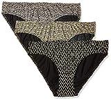 Jockey Women's Bikini (Pack of 3) (1410_Dark Prints_M)(Color May Vary)