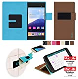 Cover for Gionee GPad G5 Case | in Brown | Multifunctional