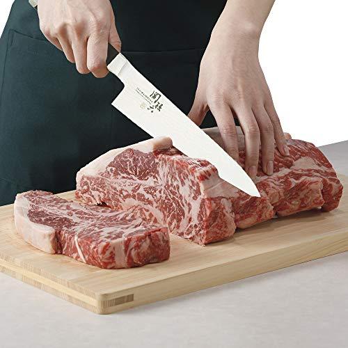 Kai Seki Magoroku Damascus Gyutou Chef Knife 180mm (AE-5204)