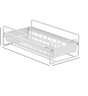 CDPC Organisateur sous évier, étagère de Rangement sous évier, Panier d'armoire coulissante à Niveau Tiroir Organisateur, ...