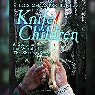Knife Children audiobook cover art