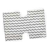 HomeDecTime Ersatz Staubtücher Bodenwischer aus Mikrofaser für Shark Dampfwischer S5003A, S5003D, S3973, S3973D, S3973WM