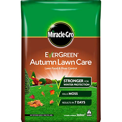 Miracle-Gro EverGreen Autumn Lawn Care, Lawn Food & Moss Control, 12.6...