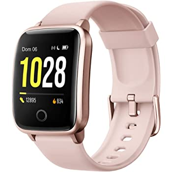 Willful Smartwatch Orologio Fitness Uomo Donna Fitness Tracker Contapassi Calorie Cardiofrequenzimetro da polso Impermeabile IP68 Smart Watch con Cronometro Notifiche Messaggi per Android iOS