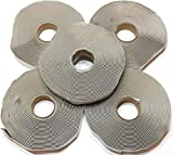 Colorimetrics Gray Putty Tape/Butyl Tape 1/8' x 3/4' x 30' (5-Pack)