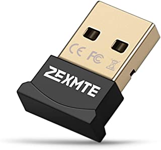 Zexmte Bluetooth 4.0 USB アダプタ bluetooth ドングル CSR4.0+ EDR Bluetooth レシーバー ワイヤレスブルートゥース USBドングル 無線 超小型 ドングル (Mac OS Linux非対応)
