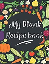 Recipe Book: to Write in - Blank Cook Book Cute Personalized Family Gift