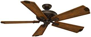 Casawhitea 55035 Fellini 60-Inch Ceiling Fan with Five Walnut Blades and Wall Control, Brushed Cocoa