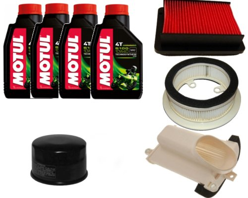 KIT cortando filtro aceite+3 filtros aire+4 LT ACEITE MOTUL YAMAHA T-MAX 530 2012