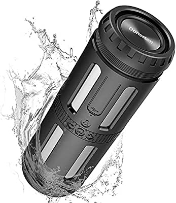 Motast Bluetooth Speaker, 20W Wireless Speaker, 24H Playtime, 5200mAh Battery with Powerful Bass, IP56 Water-Resistant, 66-foot Bluetooth Range, Portable Speaker for Home, Outdoors, Travel from Motast