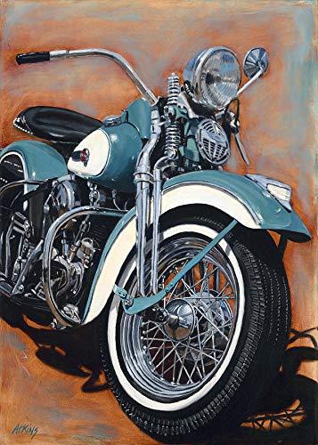 Modsjj 5D Diamant-Stickerei_Motorrad...