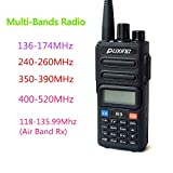 Puxing R9 FM Dual Band walkie Talkie Two Way Radio air Band transceiver PX-R9