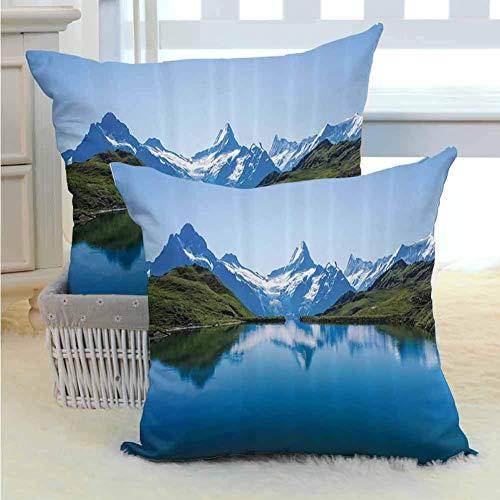 koniqiwa Apartment Decor Collection Kissenbezüge Hüllen Atmungsaktiv Silky Ultra Soft