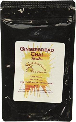 California Teahouse Gingerbread Chai Rooibos Tea
