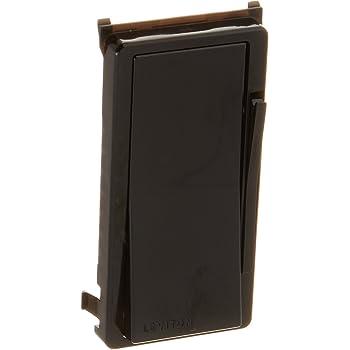 Leviton DDKIT-E Decora Digital/Decora Smart Dimmer Color Change Kit, Black