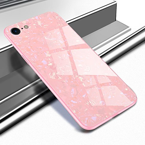 Ostop Carcasa para iPhone 7 Plus/iPhone 8 Plus, brillante, elegante, de lujo,...