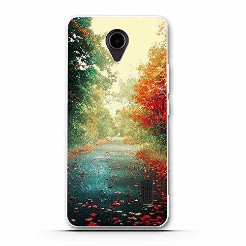 Funda Huawei Ascend Y635-Fubaoda-Alta Calidad Serie hermosa y romántica del paisaje,Resistente a los arañazos en su parte trasera,funda protectora anti-golpes para Huawei Ascend Y635