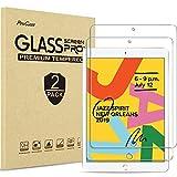 ProCase 2 uds. Protector de Pantalla para iPad 8 2020 / iPad 7 2019 10.2', Vidrio Real Cristal Templado para Apple iPad 8ª 2020 / 7ª Generación 10.2 Pulgadas 2019 (Modelos: A2197 A2198 A2200)