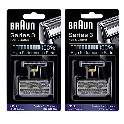 Braun Serie 3 Combi 31S Hoja Y Cortador De Repuesto Pack - 2 Pk