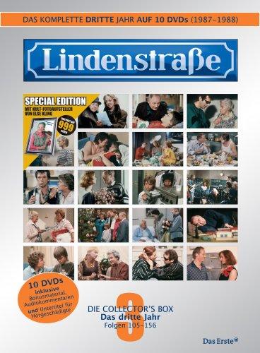 Lindenstraße - Das komplette 3. Jahr (Ltd. Edition mit Fotoaufsteller) (10 DVDs)