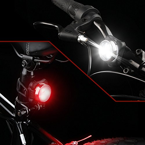 51TH9VgPDsL Ascher USB Rechargeable Bike Light