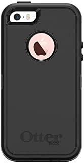 OtterBox DEFENDER SERIES Case for iPhone 5/5s/SE ONLY – Retail Packaging – BLACK