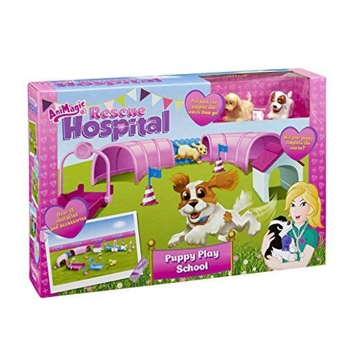 Animagic Rescue Hospital Puppy Play école Action Figure
