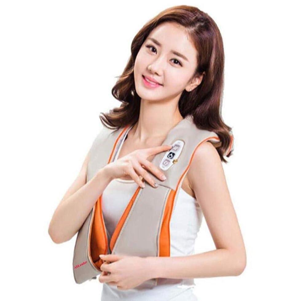 上に朝創傷首のマッサージャー、調節可能な強さのための熱および深いティッシュの混練のマッサージの指圧の肩のマッサージャー、事務車で使用することができます