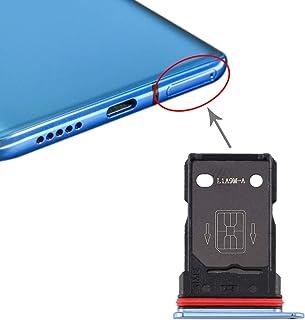 OnePlus 7TアクセサリーのためのSIMカードトレイ+ SIMカードトレイ 電話の継手 (Color : Blue)