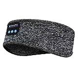 Sleep Headphones Bluetooth Headband, Wireless Sports Bluetooth Headband Headphones with Thin Speakers, Sleep Earbuds, Wireless Sleeping Headphones for Workout Running Yoga Nap, Gift for Men and Women