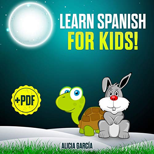 Learn Spanish for Kids! cover art