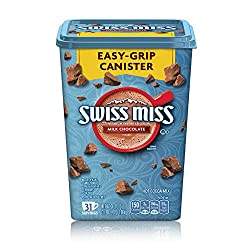 Swiss Miss Milk Chocolate Flavor Hot Cocoa Mix Canister, 38.27 Oz