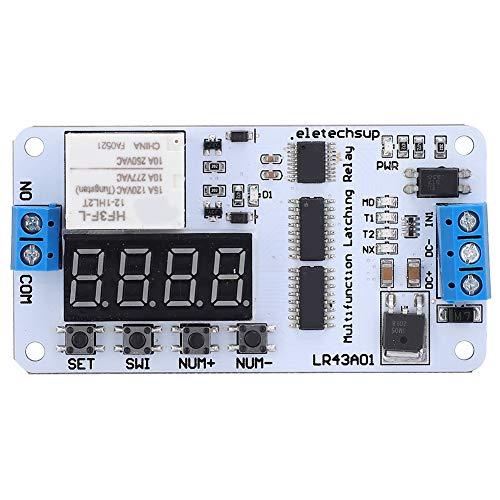 Interruptor de tiempo de retardo, módulo de interruptor de relé de rendimiento estable muy conveniente, fácil de instalar para fábrica para ingenieros