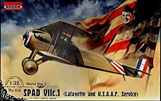 SPAD VII.C1 FIGHTER (LAFAYETTE AND U.S.A.A.F SERVICE) WWI 1/32 RODEN 615 by Roden