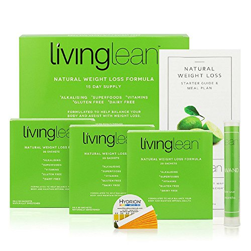 Living Lean Immunity Detox Cleanse Kit 15 Days - Vegan All Natural Organic - Alkaline Your Body for Healthy & Digestion Support-Powerful Colon, Kidney, Liver & Bowel Cleanser