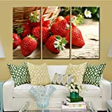 GYSS 3 Tafeln Wandkunst Bilder Dekoration Für Wohnzimmer 3