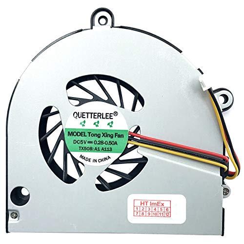 Ventola di raffreddamento – Fan Version 1 compatibile per Acer Aspire 5741G, 5251, 5542, 5552, 5733Z, 5742, 5333, E729, 5741, 5733, 5742G, 5742Z, 5740, 5740G, 5742ZG, 55551, 5551G