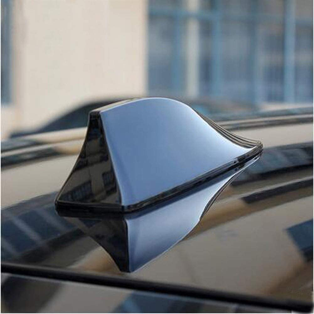 Color : Black Apricot blossom Signal de Requin antenne aileron Voiture Accessoires for Styling Alfa Romeo GT Q2 Romeo 147 156 159 Giulietta Mito Voiture antennes Radio Blank