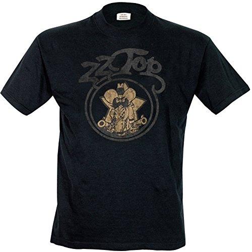 Bravado Herren T-Shirts, Schwarz, Black, Medium (Herstellergröße: Medium)
