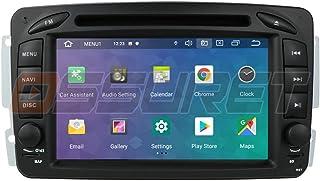 Ossuret Android 10 Autoradio Radio GPS Navigation mit 7 Zoll Touchscreen Passend für Mercedes Benz C W209 / C W203 / Viano/Vito/Vaneo/A W168 Unterstützung der Lenkradsteuerung