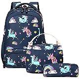 Mochila Niña Unicornio Mochilas Infantiles Girls School Bag Set Mochilas Chicas Niña Bolsas...