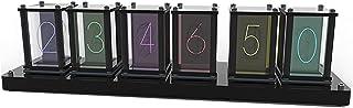Nixieチューブクロック複数のディスプレイスタイル RGB LED.デジタル DIY.時計ロマンチックな レトロなNixie Clockは、恋人の友人の誕生日のための現代のデジタルギフトを刺激しました