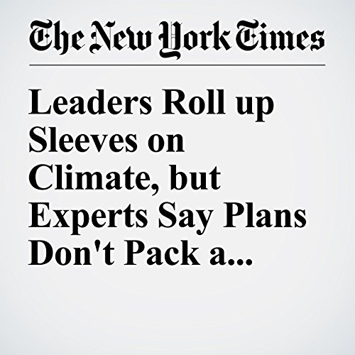 Leaders Roll up Sleeves on Climate, but Experts Say Plans Don't Pack a Wallop audiobook cover art